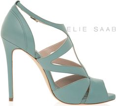 Elie Saab PreFall 2012 - the genius does shoes too.