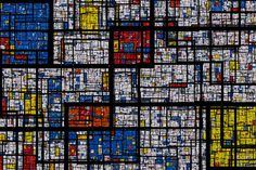 tonguedepressors: (by Samuel Monnier) A fractal Mondrian pattern This has been on my todo list for a while Piet Mondrian, Citation Art, Theo Van Doesburg, Brindille, Dutch Painters, Dutch Artists, Art Abstrait, Anime Comics, Fractals