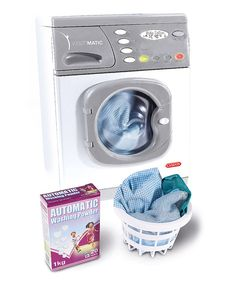 Take a look at this Casdon Electronic Washer Set on zulily today!