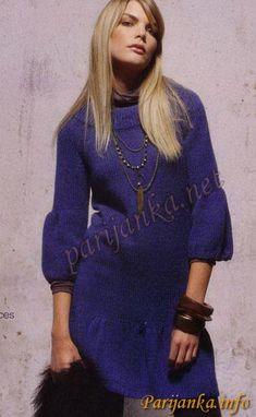 Платье - пуловер 04*555 PHIL №377