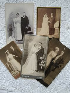 5 pcs. antique Hungarian wedding cabinet photos, bride, bridegroom, cca. 1900s' Bride Groom, Cabinet, Antiques, Photos, Wedding, Ebay, Clothes Stand, Antiquities, Valentines Day Weddings