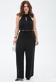 Halter Keyhole Jumpsuit | FOREVER 21+...Must have for nights out this summer