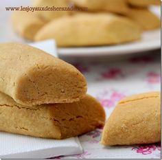 Ghribia - gâteau secs à la farine de pois chiches tunisiens