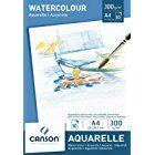 Canson 200005789 Aquarellpapier A4 300 G M 10 Blatt Weiss