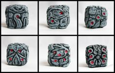 This item is unavailable Cthulhu Dice by RobinRed on Etsy Cthulhu Tattoo, Cthulhu Art, Lovecraft Cthulhu, Call Of Cthulhu, Hp Lovecraft, Dungeons And Dragons Dice, Geek Girls, Pen And Paper, Concept Art