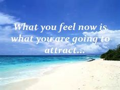 Vibrational Manifestation - What you feel now is what you are going to attract. Law of Attraction Quote - My long term illness is finally going away, and I think I might have found the love of my life.