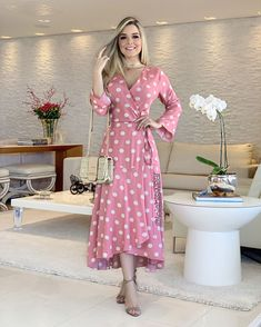 Girls Fashion Clothes, Girl Fashion, Fashion Dresses, Clothes For Women, Cute Dresses, Dresses With Sleeves, Cotton Frocks, Western Dresses, Look Chic