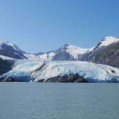 Portage Glacier from the Portage Glacier Cruise on Portage Lake in Portage Alaska.  #portage #Anchorage #Alaska #vacation #travel #igtravel #instatravel #traveling #travelblogger