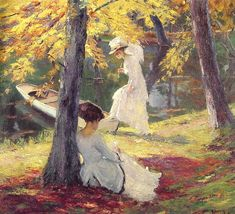 American artists, American Impressionist Painters, Figurative painting, Modern art, Women in Painting, Oil Painting by Edward Cucuel