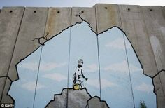 Pictures: Best of Banksy Graffiti