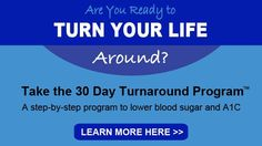 30 Day Turnaround Banner | Diabetes Meal Plans