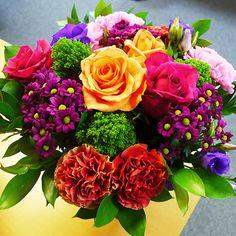Superbe bouquet de fleurs Baroque par Aquarelle.com
