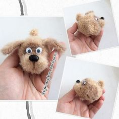1000 схем амигуруми на русском: Крошка Бобик амигуруми