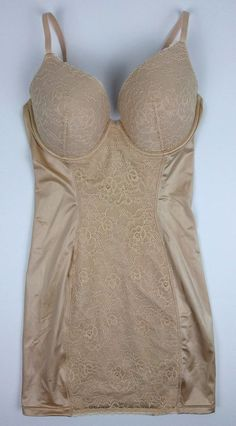 Maidenform Inspirations Be Chic Collection Slip Shaper Nude 36C Push Up Shaper #Maidenform #SlipShapers