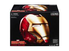 Marvel Legends Iron Man Electronic Helmet - Marvel Statues, Busts, Prop Replicas Marvel Legends Replicas