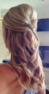 Wedding - Maid of Honor Hair!