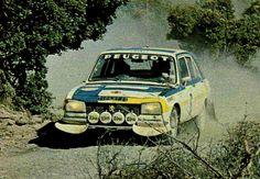 1975 Marocco Rally (Mikkola Hannu - Todt Jean) Peugeot 504 Ti