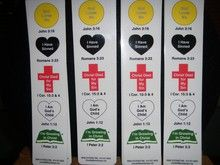 Wordless Book Scripture Bookmarks