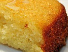 Nammoura (Sweet Semolina Cake) -- totally addictive & yes, I have a serious problem...