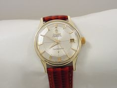 1962 OMEGA CONSTELLATION PIE PAN CHRONOMETER WITH DATE