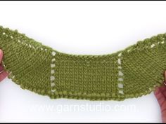 DROPS Knitting Tutorial: How to work the cables for the cardigan in DROPS 170-29 - YouTube