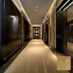 Golden Beige Laminated Marble Tile,3mm/5mm marble+9mm porcelain tile Sue Peng Whatsapp:+86 13923224236 Homepage:www.moreroom.com