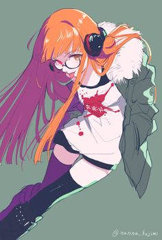 le-merchant-fr:  Sakura Futaba from Persona 5 (Fan Art Picture)  Credit: 藤実なんな Pixiv#WoOF