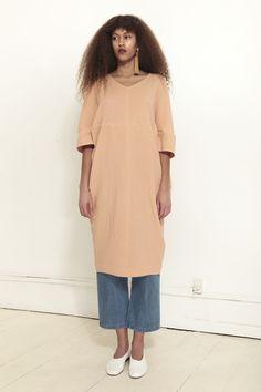 CARON CALLAHAN, Moxi Dress, Peach | Mr. Larkin