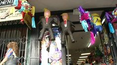 Trump pinata selling out in San Francisco's Mission District