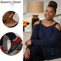 Queen Latifah Wardrobe: March Looove the shooo! Curvy Fashion, Plus Size Fashion, Girl Fashion, Womens Fashion, Casual Outfits, Cute Outfits, Queen Latifah, Girl With Curves, Girls Wear