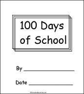 Tons of activities, crafts, and printouts to use on the one hundredth day of school ~ check it out @Carlye Dunleavy School School, 100 Days Of School, School Parties, School Stuff, Kindergarten Lessons, School Lessons, Enchanted Learning, Teaching Schools, Teaching Kids