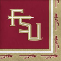 Florida State Univ Lunch Napkins/Case of 240 Tags: Florida State University; Lunch Napkins; Collegiate; Florida State University Lunch Napkins;Florida State University party tableware; https://www.ktsupply.com/products/32786326236/Florida-State-Univ-Lunch-NapkinsCase-of-240.html