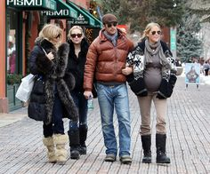 Goldie Hawn and Oliver Hudson Photos Photos: Kate Hudson Shops in Aspen Oliver Hudson, Kate Hudson, Goldie Hawn, Bardot, In Hollywood, Movie Stars, Winter Jackets, Husband, Actors