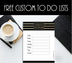 Free to do lists