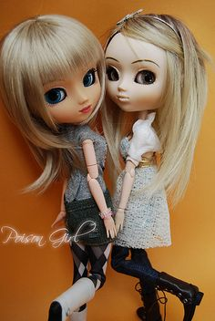 Luna & Allison - Pullip Nero & Haute LA | Flickr - Photo Sharing!