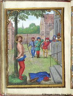 Book of Hours, MS M.451 fol. 111v - Images from Medieval and Renaissance Manuscripts - The Morgan Library & Museum