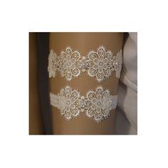 Ivory Lace Wedding Garter, Wedding Garter Set, Unique Ivory Lace Bridal Garter Set, Lace Wedding Garter Belt, Vintage Style Bridal Garter by SpecialTouchBridal on Etsy