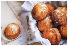 Cheese donuts with coconut and chocolate