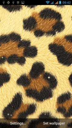 "Be stylish, be exotic! ""Animal Print Live Wallpaper"" free app for Android™ provides you with the best animal print background images that will make your phone look like a million dollars. Follow the latest fashion trends and set these awesome HD images on your home screen that will match your today's outfit!This is a cool live wallpaper collection that will make your phone and tablet look amazing. Don't wait for somebody else to do this before you, download top live wallpapers and be the ..."