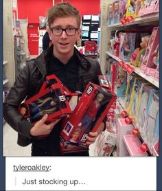 And this is why i love Tyler Oakley.