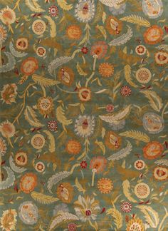 Charming New Moon Rug   Garden, Spring Fever. An Exquisite And Rich Floral Pattern  That