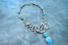 Hey, I found this really awesome Etsy listing at http://www.etsy.com/listing/159622242/turquoise-sea-life-necklace