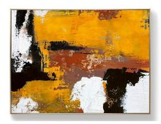 Original Burnt Orange Abstract Painting,Black White Abstract On Canvas Painting,Orange Painting,Large Wall Canvas Painting,Living Room Art Orange Painting, Blue Abstract Painting, Oil Painting On Canvas, Abstract Canvas Art, Canvas Artwork, Your Paintings, Beautiful Paintings, Art Abstrait Gris, Large Wall Canvas