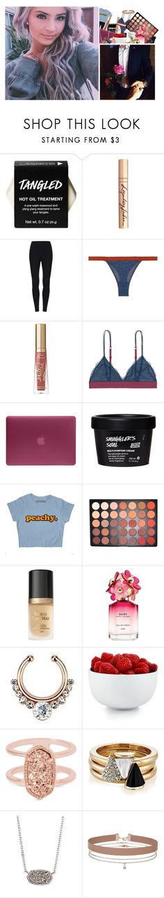 """G O T  T H E  J O B  x  D E L I L A H"" by euphcnious ❤ liked on Polyvore featuring beauty, Charlotte Tilbury, LoveStories, Too Faced Cosmetics, Incase, Morphe, Marc Jacobs, The Cellar, Kendra Scott and Brixton"