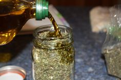 How to make herbal oils and salves