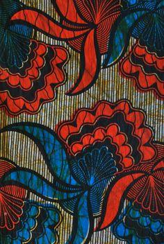 African print fabric from Kampala Fair