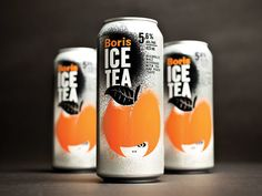 Boris ice tea | Packaging on Behance