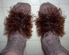 make your own hobbit feet!