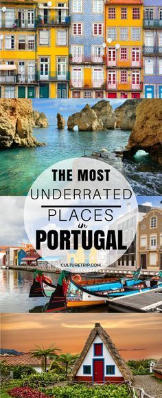 The 11 Most Underrated Places to Visit in Portugal in 2017 Places to travel 2019 - Travel Photo Europe Travel Tips, Spain Travel, European Travel, Travel Guides, Travel Destinations, Bali Travel, Travel Deals, Best Places In Portugal, Visit Portugal
