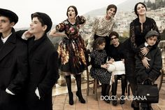 Dolce & Gabbana Fall 2012 Campaign